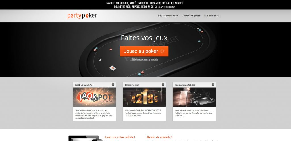 Party Poker CH